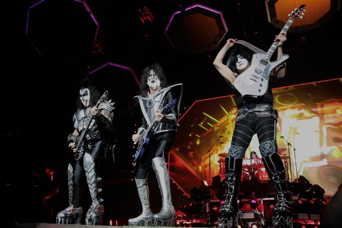 Kiss - photo by Tommy Allen Williams