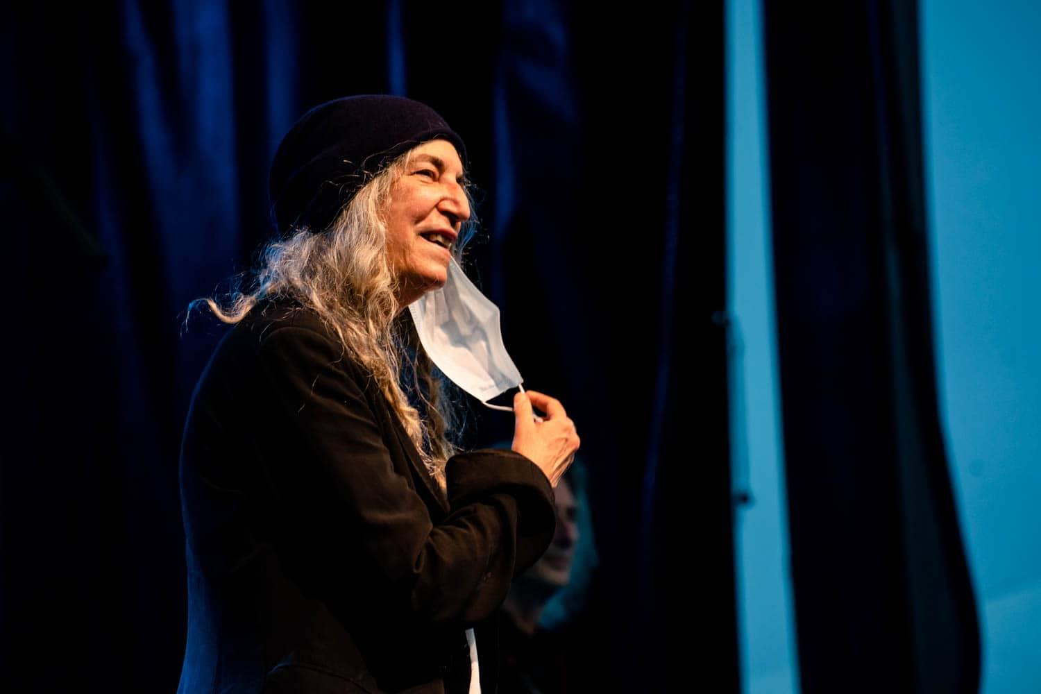 Patti Smith at Surly Festival Field - photo by Laura Buhman