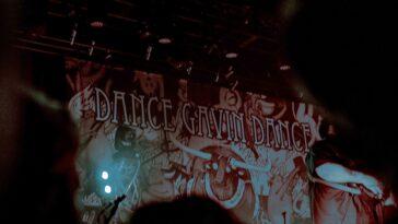 Dance Gavin Dance Afterburner Tour Poster