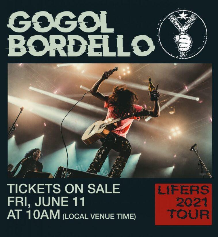 Gogol Bordello Concert Flyer